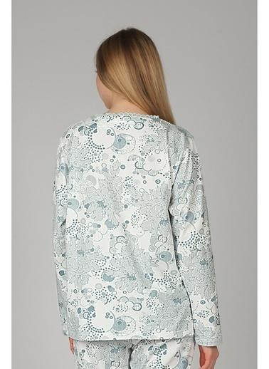 Hays Pijama Üst Mavi